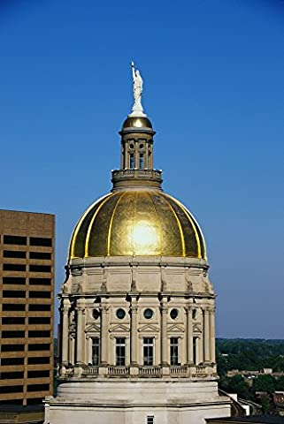 Panoramic Images – Georgia State Capitol Dome Atlanta GA Photo