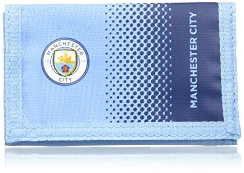 FC Manchester City 2417 Portefeuille Mixte Enfant, Ocean Blue