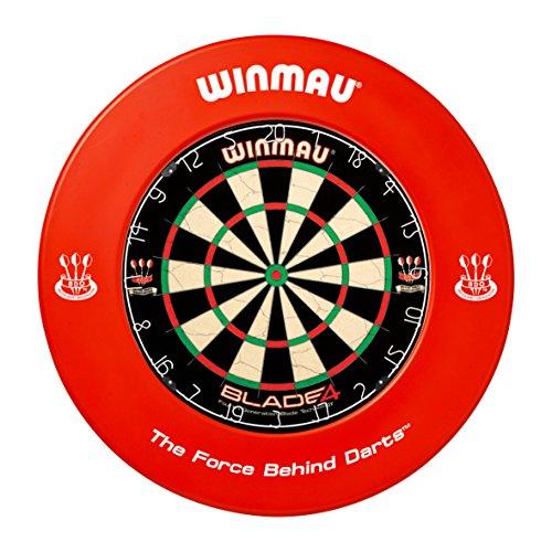 Winmau, roter Auffangring aus Gummi für Dartscheibe, Surround-Ring