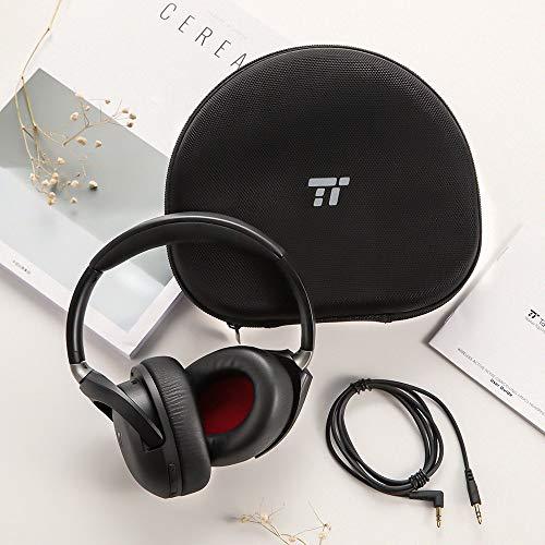 TaoTronics Active Noise Cancelling Kopfhörer aptX Bluetooth Kopfhörer ANC 22 Stunden Wiedergabezeit, aptX Audio in CD-Qualität, Geräuschunterdrückende kabellose Kopfhörer mit CVC 6.0 Mikro - 6
