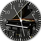 "Steinway and Sons Grand Piano Wall Clock 10"" Nice Gift and Room Wall Decor E17"