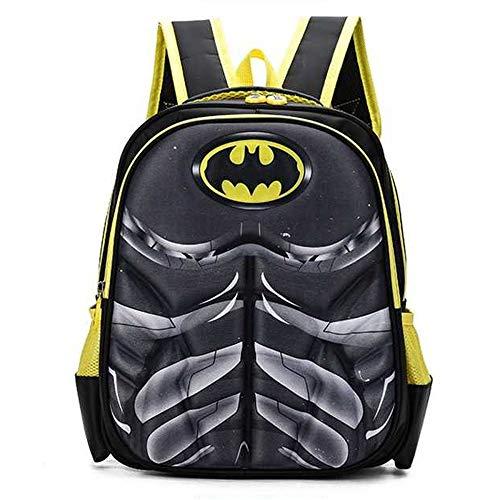 CDREAM Kinderrucksack Kinder Schulrucksack Für 6-11 Jahre Kleinkind Jungen Mädchen,Batman-35 * 30 * 15cm