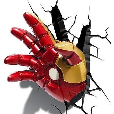 Iron Man Hand 3D Deco Light von Marvel - Lampenhans.de