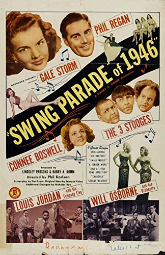 Swing-parade (Swing Parade of 1946 Movie Poster (27,94 x 43,18 cm))