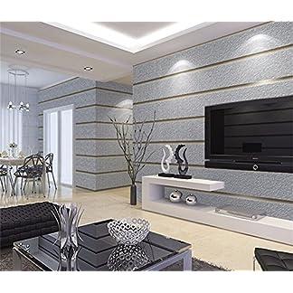 WanJiaMen'Shop Moderno salón Dormitorio Simple 3D estéreo Stripe Papel Tapiz Papel Tapiz de Fondo, A Papel de Pared