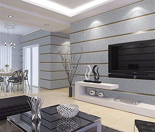 WanJiaMen\'Shop Einfache Moderne Wohnzimmer Schlafzimmer Tapete 3D ...