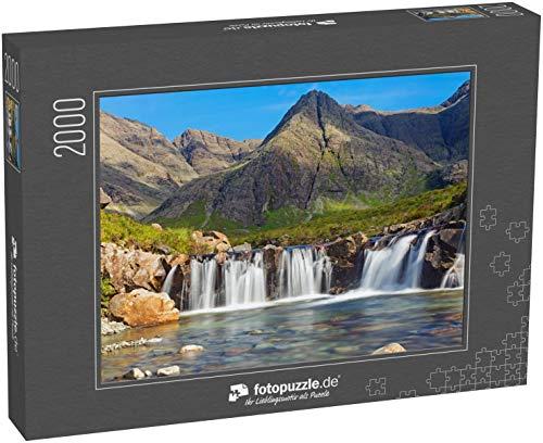 Puzzle 2000 Teile Die schönen Fairy Pools auf der Isle of Skye, Schottland - Klassische Puzzle, 1000/200/2000 Teile, in Edler Motiv-Schachtel, Fotopuzzle-Kollektion 'Schottland'