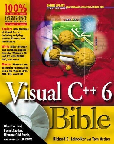Abioye Mandeep: Read Visual C++ 6 0 Bible PDF