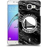 Officiel NBA B&W Marbre Golden State Warriors Étui Coque D'Arrière Rigide Pour Samsung Galaxy A5 (2016)