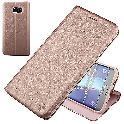Etui Porte Carte Galaxy S6 - Nouske étui à rabat Folio en cuir
