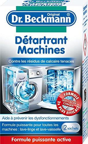 Dr Beckmann détartrant machines 2 x 50 g - Lot de 3