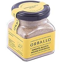Orballo-Pimienta blanca molida ecológica