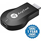 #9: Captcha M2 Plus WiFi 1080P FHD HDMI TV Stick DLNA Wireless Chromecast Airplay Dongle (Color may vary)