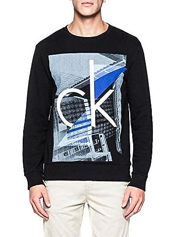 Jean Calvin Klein Homme - Sweat Calvin Klein Jeans Hagg Noir XXL