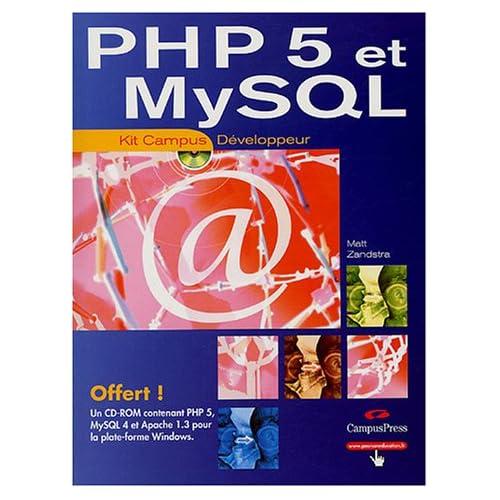 PHP 5 et MySQL (1Cédérom)