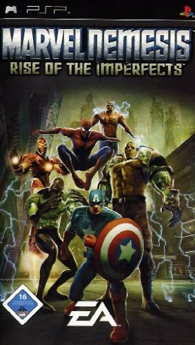 Marvel Nemesis: Rise of the Imperfects (Psp Spiele Marvel)