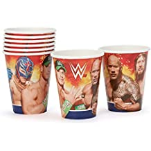 Amscan 581467 266 ml vasos de papel, WWE