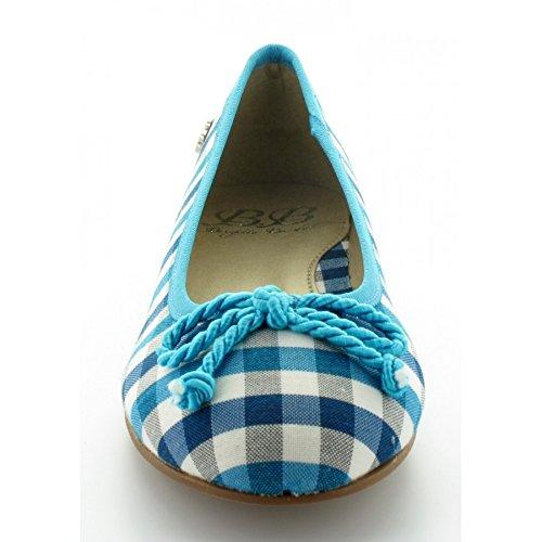 Ballerine Brigitte Bardot Clams Azur Bleue