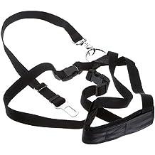 Cinturón de seguridad talla L, negro, tamaño ajustable