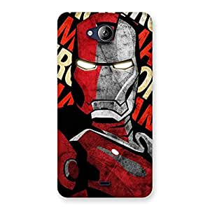 Enticing Introduction Man Back Case Cover for Canvas Play Q355