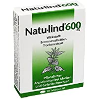 NATULIND 600 mg überzogene Tabletten 20 St Überzogene Tabletten preisvergleich bei billige-tabletten.eu