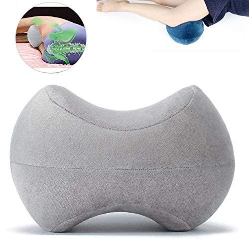 Kniekissen, Memory Foam Orthopädischer Konturkeil mit waschbarem Bezug Orthopädisches Beinkissen für Ischiasnerv Schmerzlinderung, Schwangerschaft, Hüfte und Gelenkschmerzen
