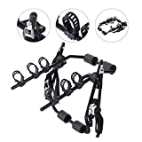 Best Bike Hitch Racks - Outsunny 3 Bike Rear Hitch Mount Carry Rack Review