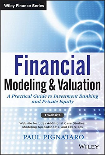 Financial Modeling and Valuation + Website: A Practical Guide to Investment Banking and Private Equity (Wiley Finance)