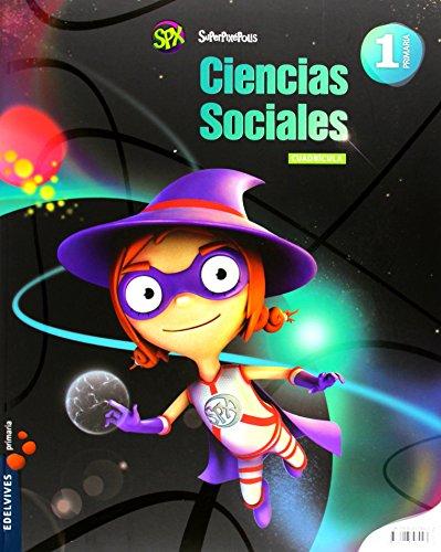 Ciencias Sociales 1º Primaria (Cuadrícula)+Nuestras mejores estrellas (Superpixépolis) - 9788426393043