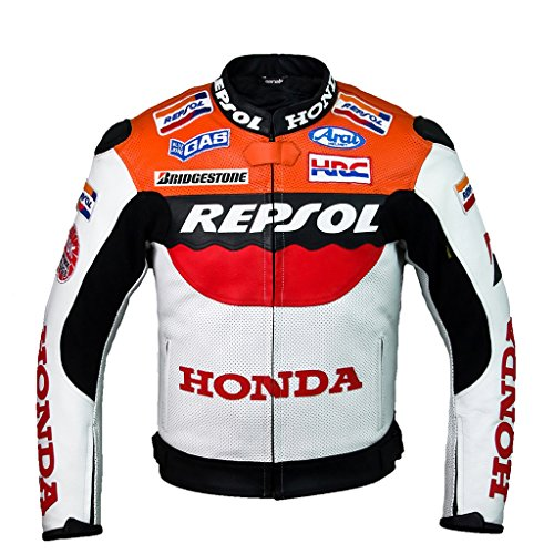 Honda Repsol Team Leder Jacke (L (EU52-54)) (Honda Team Jacke)