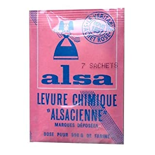 Alsa - French Cake Baking Powder 7 sachets 7x0.4oz by Alsa [Foods]