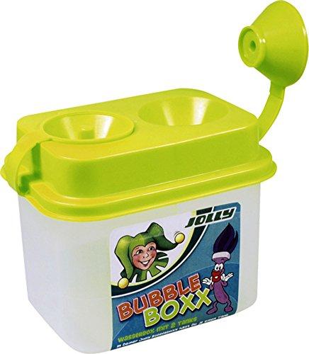 Jolly Bubblebox | Wasserbehälter mit Auslaufschutz | 2 Kammern zum trennen von sauberen und schmutzigem Wasser