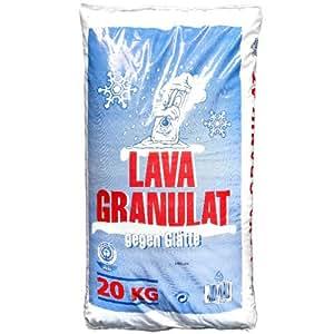 ehygiene lavagranulat 20 kg 2 4 mm als umweltfreundliche alternative zum streusalz. Black Bedroom Furniture Sets. Home Design Ideas