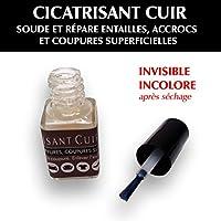 SOFOLK Cicatrisant cuir incolore : soude et répare entailles, accrocs ouverts et coupures