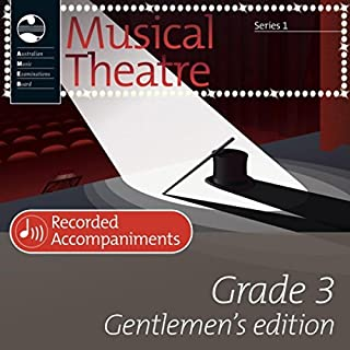 Ameb Musical Theatre Grade 3 Gentlemen's Edition Recorded Accompaniments (Series 1)