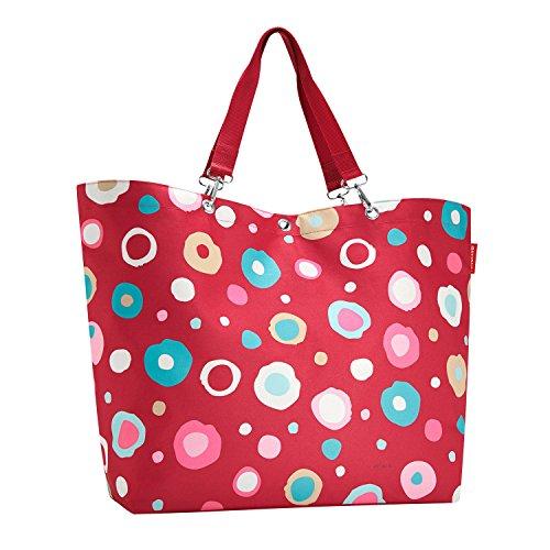 Reisenthel Shopper XL Funky Dots 2 - Schultertasche Umhängetasche Strandtasche -