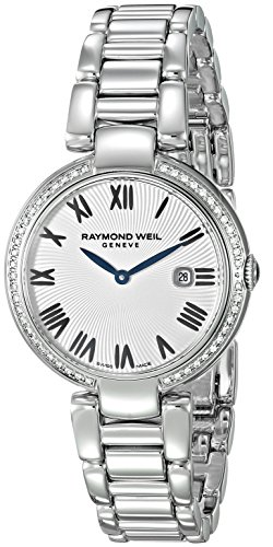 Raymond Weil Womens Analogue Swiss-Quartz Watch with Stainless-Steel Strap 1600-STS-00659