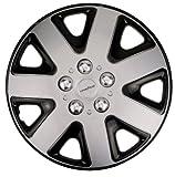 Goodyear 4 x Radzierblende Typ 'Flexo' - 16' Zoll, Farbe: Silber/Schwarz