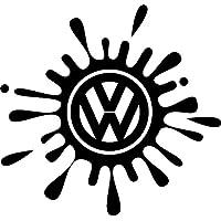 VW Volkswagen coche Vinilo Splat Splash DUB Golf, Bora, Polo y Passat UK