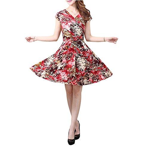 toogoorsummer-womens-v05-moms-clothing-milk-silk-short-sleeve-v-neck-floral-print-bohemian-vintage-d