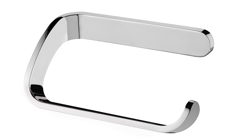 bisk 13 x 75 x 5 cm natura toilet roll holder chrome amazoncouk kitchen u0026 home