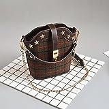 WXIN sacchi, donne, antico reticoli, lana e secchi, catene, le valigie, borse, borsette.