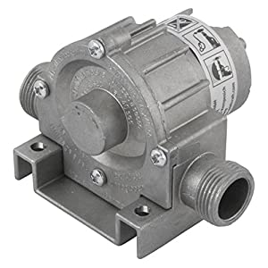 wolfcraft Bohrmaschinen Pumpe mit Metallgehäuse 2200000   Selbstansaugende Wasserpumpe mit leistungsstarken 3000 l/h - ideal für Haushalt oder Garten