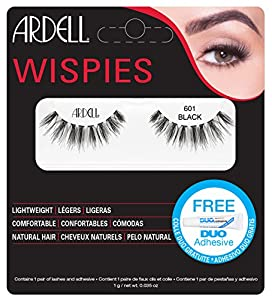 Ardell Wispies Clusters Lashes, Number 601, Black