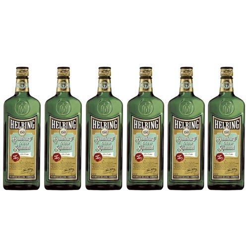 Helbing feiner Kümmel (6 Flaschen á 700ml) (Flaschen Beispiel Schnaps)