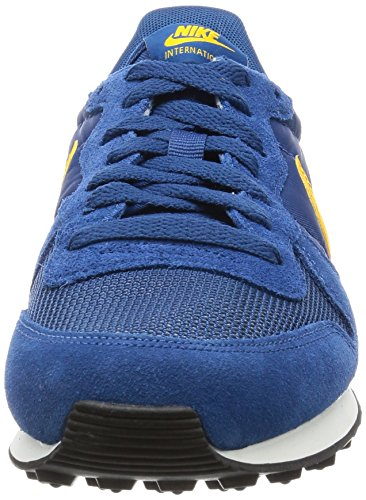 Nike Herren Internationalist Laufschuhe court blue-del sol-deep marina-sail (828041-402)