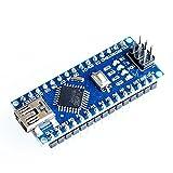 #9: AdraxX Microcontroller ATmega328P Nano For Arduino Robotic Programming