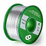 Fil à souder 1,5mm Étain plomb Colophane Core Bobine de fil à souder pour électriques Solderding et DIY (50g)