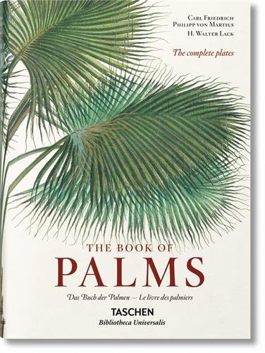 Von martius. the book of palms - bu por H. Walter Lack