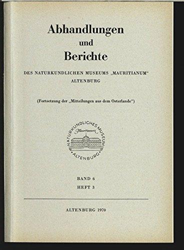 Vögel als Pflanzenverbreiter (Ornithochorie), in: ABHANDLUNGEN UND BERICHTE DES NATURKUNDLICHEN MUSEUMS MAURITIANUM, Band 6, Heft 3.